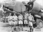 2 Squadron RAAF Hudson aircrew Hughes NT Mar 1943 AWM NWA0188.jpg