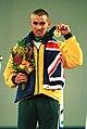 301000 - Athletics track Tim Sullivan gold medal - 3b - 2000 Sydney medal photo.jpg