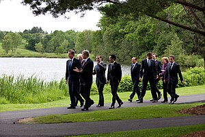 Huntsville, Ontario - World Leaders at the 36th G8 summit