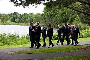 Huntsville, Ontario - World Leaders at the 36th G8 summit