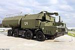 3S51 TELAR of 4K51 Rubezh coastal missile system at Park Patriot 01.jpg