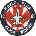 421st Tactical Fighter Squadron Maple Flag 1981 Patch.png