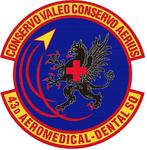 43 Aeromedical Dental Sq emblem.png