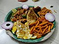 4 varieties of omlettes with 2 varieties of French fries.jpg