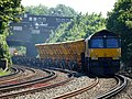 66846 (and 66 number 169) Sydenham to Hoo Junction up yard (14029701569).jpg