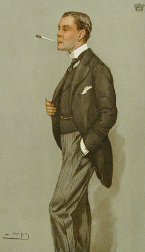Albert Yorke, 6th Earl of Hardwicke - Lord Hardwicke, by Leslie Ward, 1901