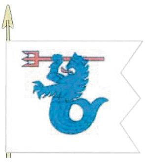 7 Ohjuslaivue lippu