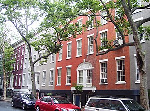 MacDougal Street - Nos. 82-96, part of the MacDougal-Sullivan Gardens Historic District