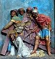 9 Jezus trzeci raz upada, kościół sw Jana Chrzciciela i Miachała Archanioła, Lubawa.jpg