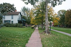 The Ninth Street Historic Park in Denver, Colorado