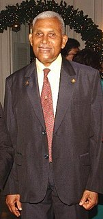 former President and Prime Minister of Trinidad and Tobago