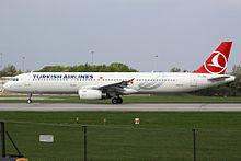 Türk hava yolları airbus a321