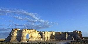 Monument Rocks (Kansas) - Image: A328, Monument Rocks National Natural Landmark, Gove County, Kansas, 2011