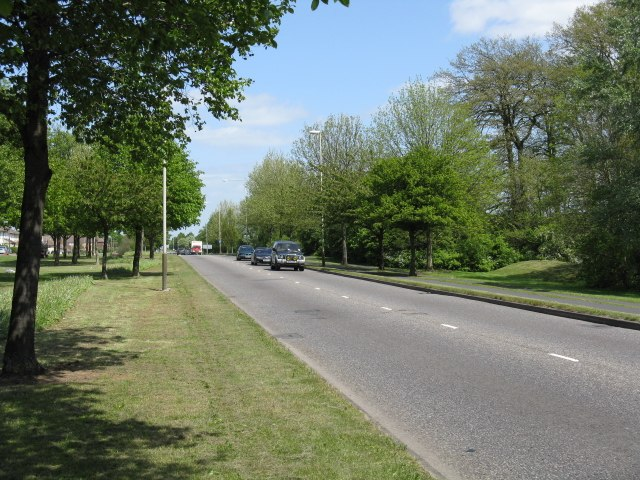 A563 Leicester Ring Road - geograph.org.uk - 1292761