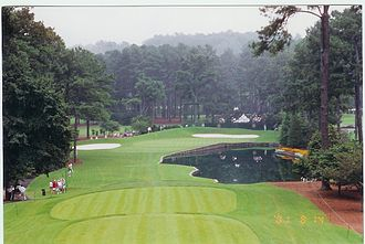 Atlanta Athletic Club - Par - 3 15th, Highlands Course.