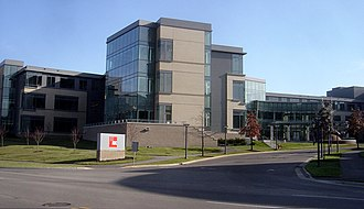 ADC Telecommunications - Former ADC headquarters complex in Eden Prairie, MN, USA. Now occupied by Optum Health