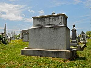 Alexander Dallas Bache Monument - Image: AD Bache Tomb 1