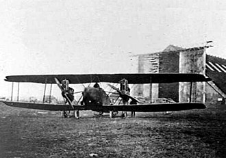 Rudolf Berthold - Berthold fought his first aerial combats in an AEG G.II bomber such as this.