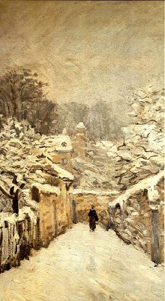 ALFRED SISLEY Louveciennes