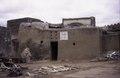 """ASC Leiden - van Achterberg Collection - 5 - 009 - Panneau avec inscription """"Consasso. La maison du premier ancêtre de Bobodioula Bobo dit sya"""" - Bobo-Dioulasso, Burkina Faso, 19-26 août 2001.tif"""