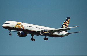 ATA Airlines - Image: ATA 757 300 by Justin Cederholm