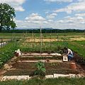 A 20ft x 20ft community garden plot in Harrisonburg, Virginia.jpg