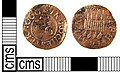 A Post Medieval copper alloy token, farthing of Joseph Travers, Rochester 1666. (FindID 273488).jpg