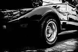A closeup view of the 3rd generation Corvette Stingray.jpg