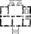 A collection of designs in architecture, containing new plans and elevations of houses, for general use Fleuron T101999-39.png