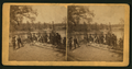 A group of fishermen standing near river or lake, by J. W. Clary.png