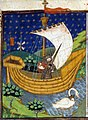A knight in a boat drawn by a swan (British Library Royal 15 E VI, f 273)-v2.jpg