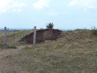 Burial mound in Kazakhstan