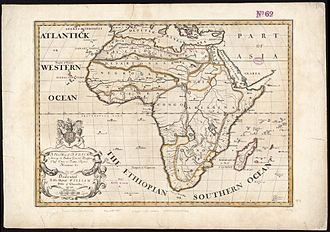 "Southern Ocean - ""Southern Ocean"" as an alternative name for the Aethiopian Ocean in a 1700 map of Africa"