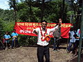 A teacher celebrates ODF in Darechowk (4971890031).jpg