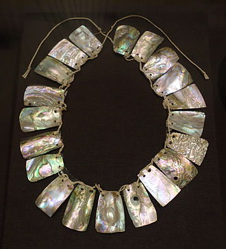 Coast Miwok - Abalone shells gathered from the coast were used to make jewelry.