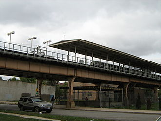 58th station - 58th before demolition in 2012