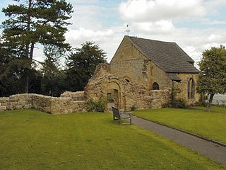 St Michael's Church in the village of Abberley.