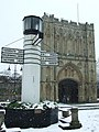 Abbey gate and pillar of salt - geograph.org.uk - 735476.jpg