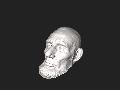 Abraham Lincoln Mills Life Mask - 3D model by The Smithsonian Institution - Sketchfab.stl