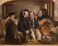"Abraham Solomon - Second Class - The Parting. ""Thus part we rich in sorrow, parting poor."" - Google Art Project.jpg"