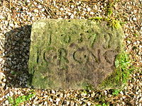 Achinbathie Tower inscribed stone