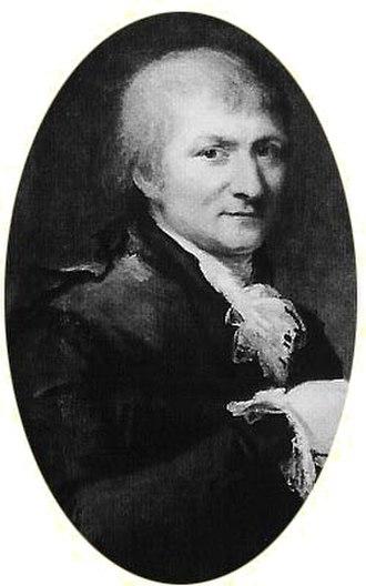 Adam Afzelius - A. Afzelius, oil by C.F. Breda.