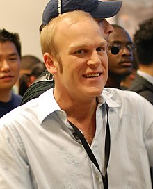 Adam Sessler X-Play at Halo 3 launch (cropped).jpg