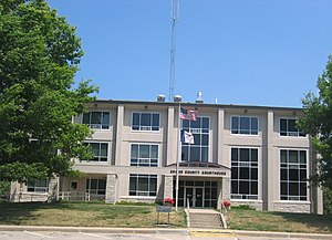 Adams County, Iowa - Image: Adams County IA Courthouse