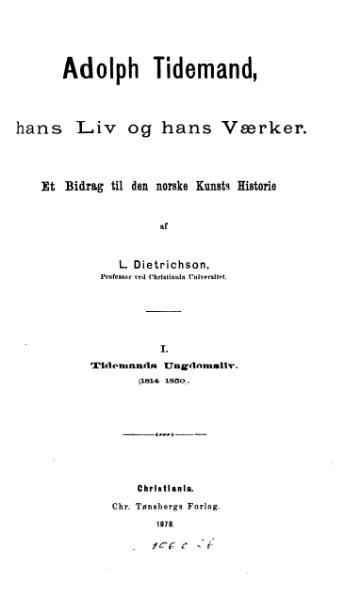File:Adolph Tidemand Tid og Værker.djvu