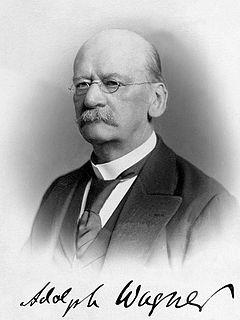 Adolph Wagner German economist