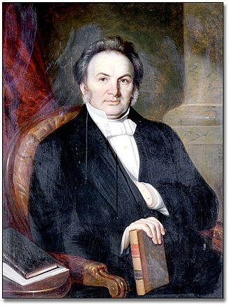 Egerton Ryerson - Portrait of Egerton Ryerson by Théophile Hamel