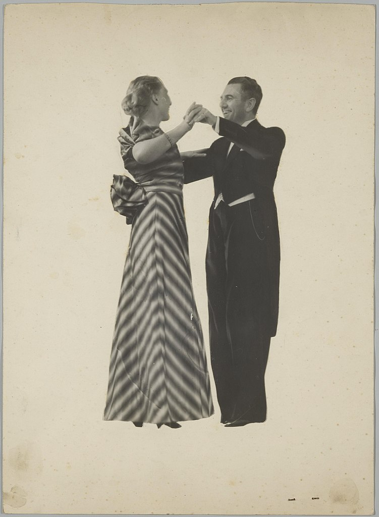 Photomontage de danse aux Archives municipales d'Amsterdam (1939)