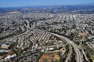 Economy of the United States - Aerial view of San Diego suburb