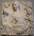 Agostino di duccio, madonna col bambino e quattro angeli (madone d'Auvillers).jpg